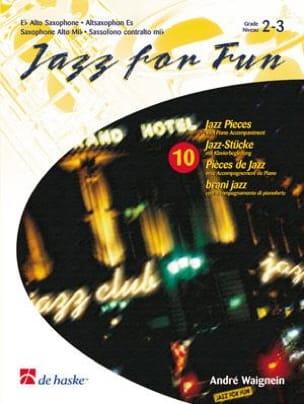 Jazz For Fun - 10 Pièces de Jazz - André Waignein - laflutedepan.com