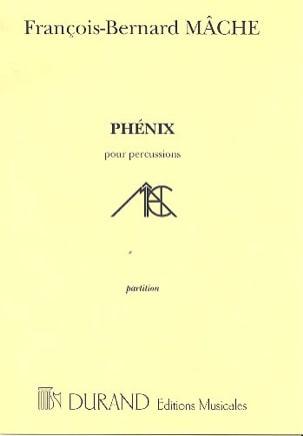 Phenix François-Bernard Mâche Partition laflutedepan