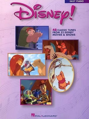 DISNEY - Disney! 48 Classic tunes from 33 Disney movies & shows - Partition - di-arezzo.fr