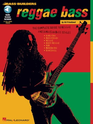 Reggae Bass - Bass Builders Ed Friedland Partition laflutedepan