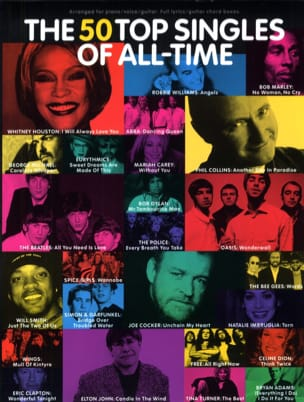 The 50 Top Singles Of All-Time - Sheet Music - di-arezzo.co.uk