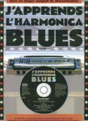 Don Baker - J'apprends l'harmonica blues - Partition - di-arezzo.fr