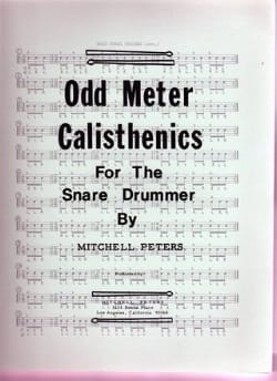 Mitchell Peters - Odd Meter Calisthenics - Sheet Music - di-arezzo.com