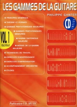 Philippe Ganter - The Ranges of the Guitar - Volume 1 - Sheet Music - di-arezzo.co.uk
