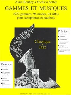 Bouhey Alain / Seffer Yochk'o - Ranges and Musics - Sheet Music - di-arezzo.co.uk