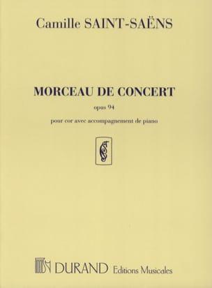 Camille Saint-Saëns - Morceau de Concert Opus 94 - Partition - di-arezzo.fr