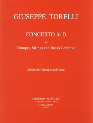 Giuseppe Torelli - Concerto En for Trumpet - Sheet Music - di-arezzo.com