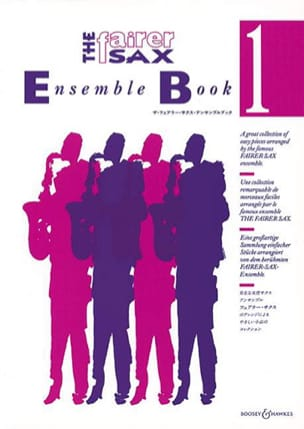 The Fairer Sax Ensemble Book 1 - Partition - di-arezzo.fr