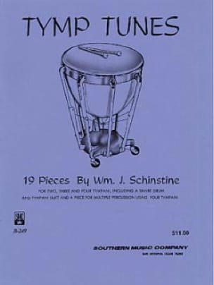 Tymp Tunes William J. Schinstine Partition Timbales - laflutedepan