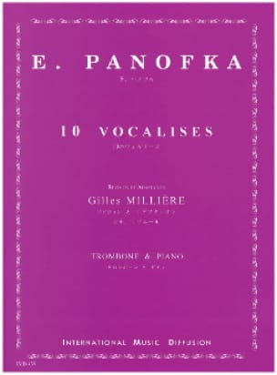 E. Panofka - 10 Vocalises - Partition - di-arezzo.fr