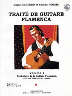 Herrero Oscar / Worms Claude - Flamenco Guitar Treatise Volume 1 - Sheet Music - di-arezzo.co.uk