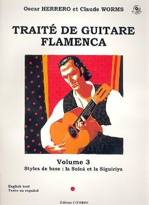 Herrero Oscar / Worms Claude - Flamenco Guitar Treatise Volume 3 - Sheet Music - di-arezzo.co.uk