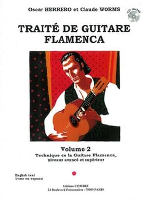 Herrero Oscar / Worms Claude - Flamenco Guitar Treatise Volume 2 - Sheet Music - di-arezzo.co.uk