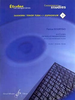 Patrice Sciortino - 1 - 50 Easy and progressive studies volume 1 - Sheet Music - di-arezzo.com