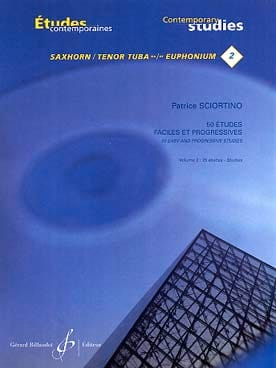 Patrice Sciortino - 50 Easy and Progressive Studies Volume 2 - Sheet Music - di-arezzo.co.uk