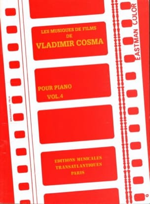 Vladimir Cosma - The Soundtracks Volume 4 - Sheet Music - di-arezzo.com