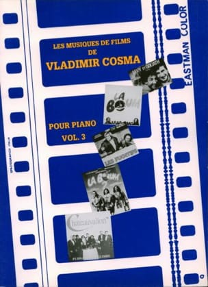 Vladimir Cosma - The Soundtracks Volume 3 - Partition - di-arezzo.co.uk