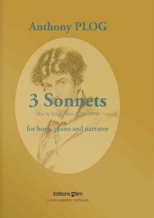 Three Sonnets Anthony Plog Partition Cor - laflutedepan