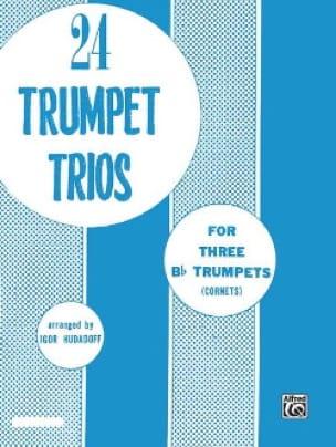 24 Trumpet Trios Igor Hudadoff Partition Trompette - laflutedepan