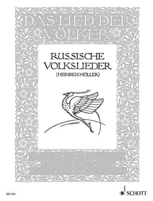 - Russische Volkslieder - Sheet Music - di-arezzo.co.uk