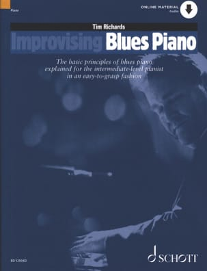 Tim Richards - Improvising Blues Piano - Partition - di-arezzo.fr
