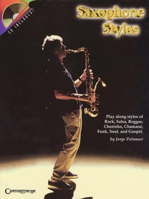 Jorge Polanuer - Saxophone Styles - Partition - di-arezzo.fr