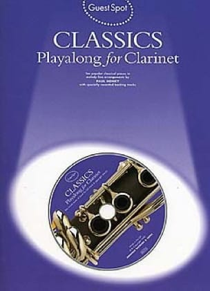 - Guest Spot - Classics Playalong For Clarinet - Sheet Music - di-arezzo.com