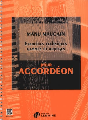 Manu Maugain - Technical Exercises, Ranges And Arpeggios - Sheet Music - di-arezzo.co.uk