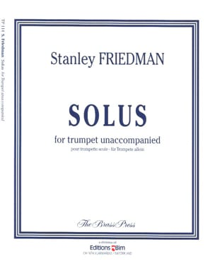 Stanley Friedman - Solus - Sheet Music - di-arezzo.co.uk