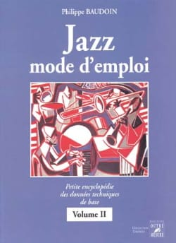 Philippe Baudoin - Manual de usuario de jazz volumen 2 - Libro - di-arezzo.es
