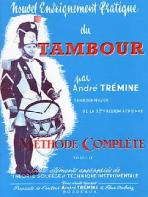 André Trémine - New Practical Drum Teaching Volume 2 - Sheet Music - di-arezzo.com