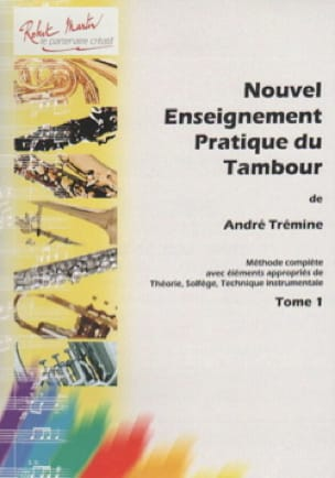 André Trémine - New Practical Teaching Drum Volume 1 - Sheet Music - di-arezzo.com