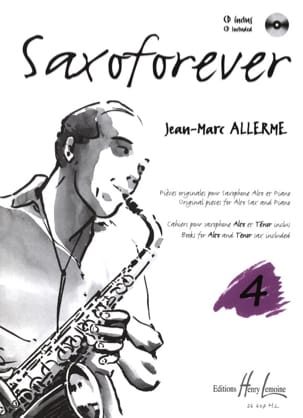 Jean-Marc Allerme - Saxoforever Volume 4 - Partitura - di-arezzo.it