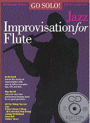 - Go Solo! Jazz Improvisation For Flute - Sheet Music - di-arezzo.co.uk