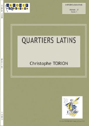 Quartiers Latins Christophe Torion Partition laflutedepan
