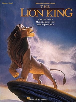 Elton John - The Lion King - Sheet Music - di-arezzo.co.uk