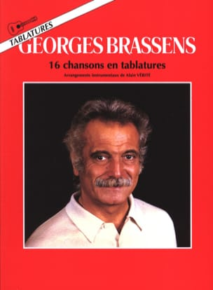 Georges Brassens - 16 Songs In Tabs - Partition - di-arezzo.co.uk