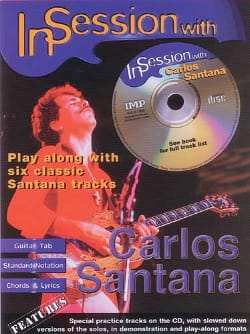 In Session With Carlos Santana Partition Pop / Rock - laflutedepan