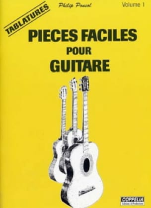 - Easy Parts For Guitar Volume 1 - Sheet Music - di-arezzo.com