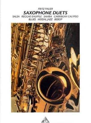 Fritz Pauer - Saxophone Duets - Partition - di-arezzo.fr