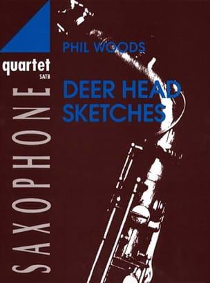 Deer Head Sketches - Phil Woods - Partition - laflutedepan.com