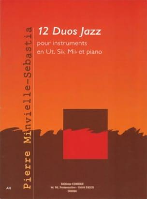 Pierre Minvielle-Sebastia - 12 Duos jazz - Partition - di-arezzo.fr