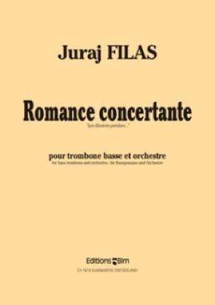 Romance Concertante Juraj Filas Partition Trombone - laflutedepan