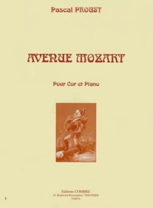 Avenue Mozart Pascal Proust Partition Cor - laflutedepan