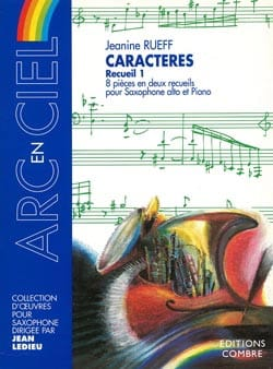 Jeanine Rueff - Volume 1 characters - Sheet Music - di-arezzo.co.uk