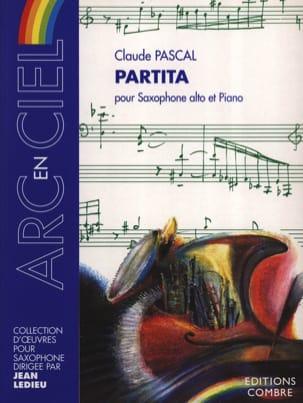 Claude Pascal - Partita - Partition - di-arezzo.fr