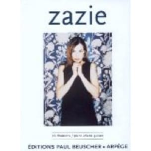 Zazie - 26 Songs - Sheet Music - di-arezzo.co.uk