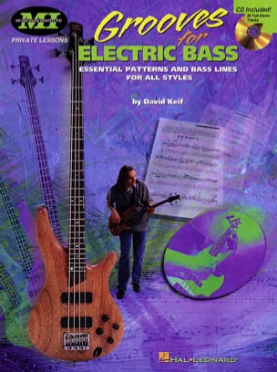 Grooves For Eléctric Bass - David Keif - Partition - laflutedepan.com