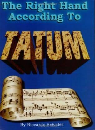 The Right Hand According To Tatum Art Tatum Partition laflutedepan