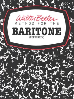 Walter Beeler - Method For The Baritone Volume 1 - Sheet Music - di-arezzo.com